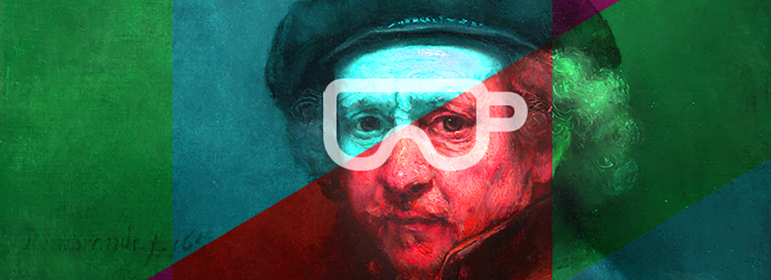 Rembrandt autoportrait 3D