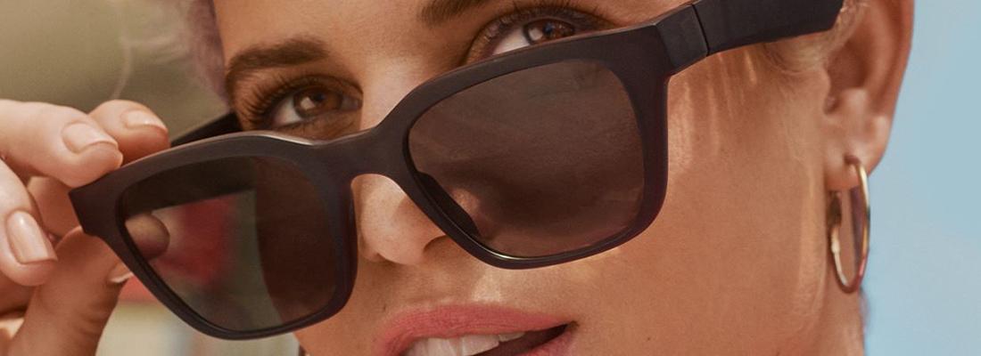 les lunettes de soleil Bose, l'image et le son en même temps