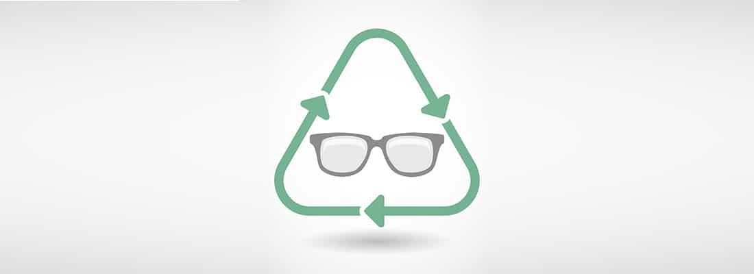 le recyclage de mes anciennes lunettes, un sujet important