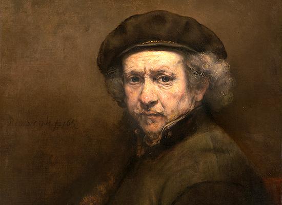 Rembrandt auto portrait 1659