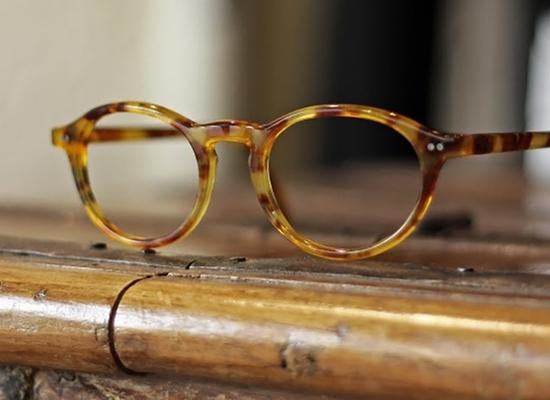 Tendance ecailles aussi pour les lunettes de l'ateleir Baudin