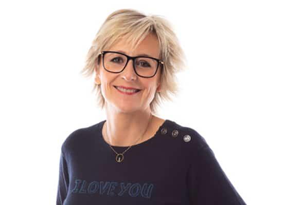 Sylvie Adigard et ses lunettes de vue Mikli
