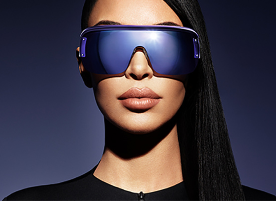 Lunettes Kim Kardashian x Carolina Lemke Berlin