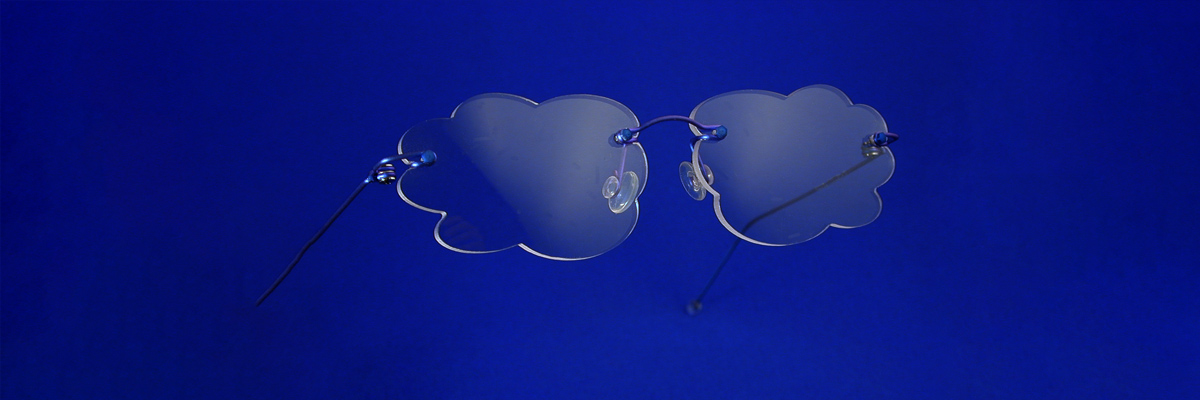 Des lunettes percées, invisibles chez E dans l'O