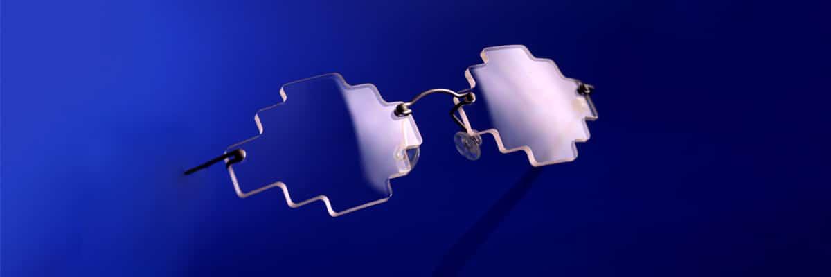 E dans l'O, des lunettes découpées selon vos envies avec des formes pouvant être très originales