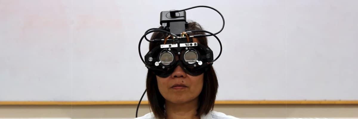 des lunettes autofocales qui pourraient un jour corriger leurs visions beaucoup plus efficacement que les lunettes traditionnelles