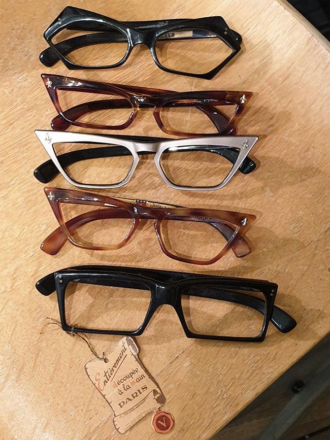 lunettes de creation francaises vintage de 1960