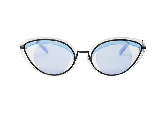 Tenda ce Hot cet &t& chez Kenzo pour la collection de lunettes X Thélios