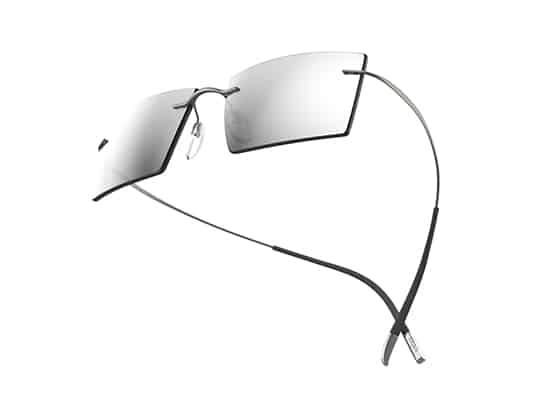 Silhouette, Des lunettes supere legere et analergique pour aller dans l'espace
