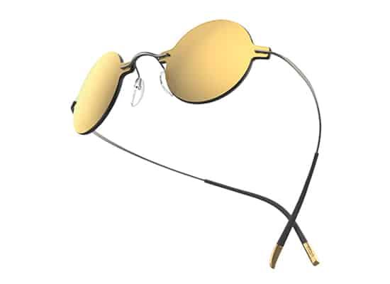 Des lunettes dans l'espace avec la marque Silhouette