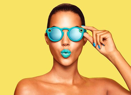 Spectacle 3, les lunettes de snapshat carré