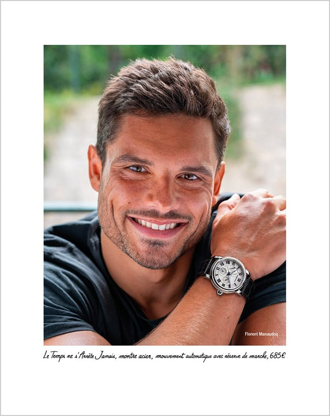 Mauboussin turns its attention to men: florent manaudou