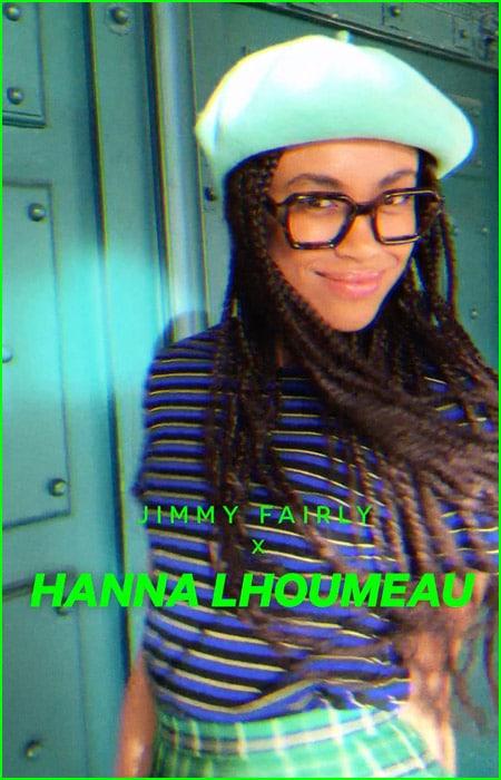 Jimmy fairly eyewear collab: Hannah Lhoumeau