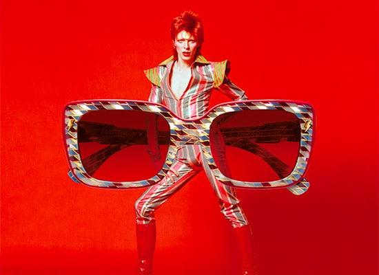 Etnia barcelona eyewear & David Bowie carre
