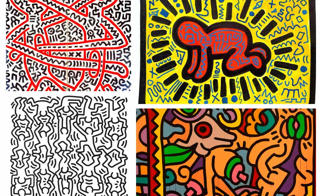focus-lunettes-artistes-keith-haring-patchwork