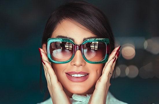 choisir entre lentilles de contact et lunettes carre