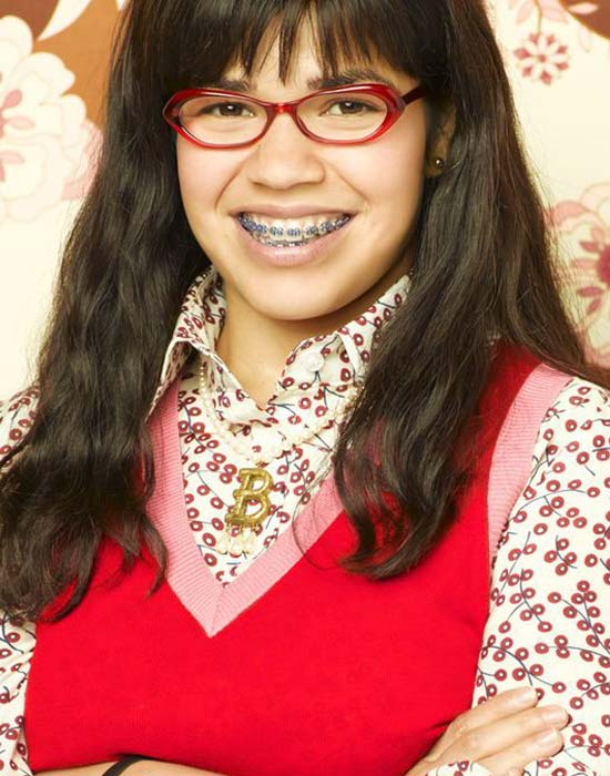 je suis belle sans mes lunettes America Ferrera, Ugly Betty