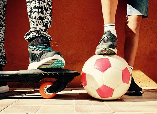 lunettes sport enfants skate board