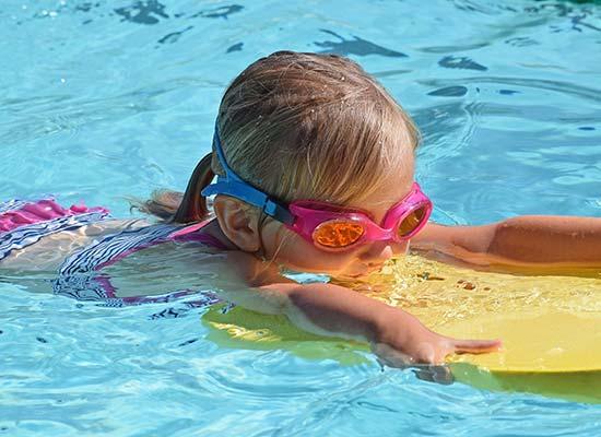 lunettes sport enfants piscine