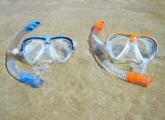 lunettes sport enfants plage