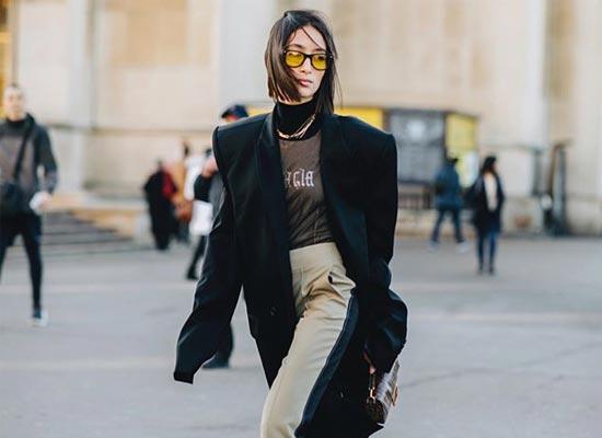 influenceurs lunettes & fashion week carre alexandra guerin