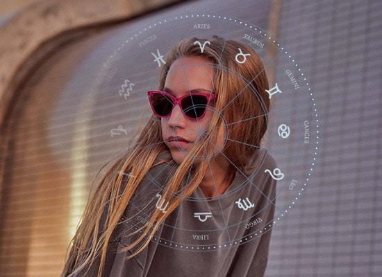 Astrologie et lunettes-modèle Komono