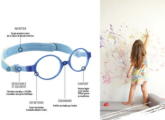 Quelles lunettes de vue pour bébé-lserre tete lunettes Optic Kids Demetz