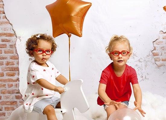 Quelles lunettes de vue pour bébé-lserre tete lunettes Nanobaby-nanovista